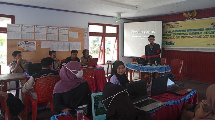 Pirdaus Berharap Pelatihan Desain Grafis Bisa Tingkatkan Skill Pemuda Tempatan