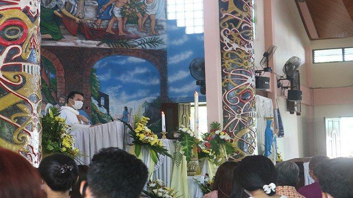 Misa Paskah Berjalan Aman, Pihak Gereja Sampaikan Terimakasih Pada Pihak Keamanan