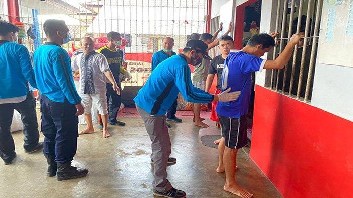 Priyo: Tidak di Temukan Narkoba di Blok Hunian Rutan Sambas