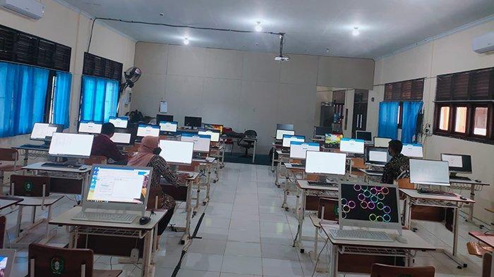 Pelaksanaan Seleksi PPPK Tahun 2021 di SMKN 1 Sukadana Kayong Utara