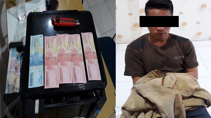 PENGAKUAN Tersangka Pemalsuan Uang di Sandai Ketapang