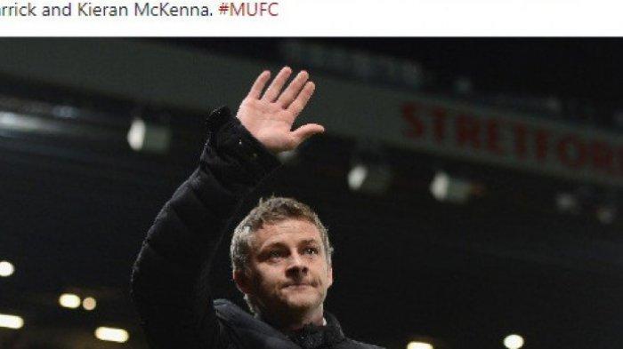 Link LIVE Streaming Manchester United vs Tottenham Liga Inggris - Adu Taktik Solkjaer vs Mourinho