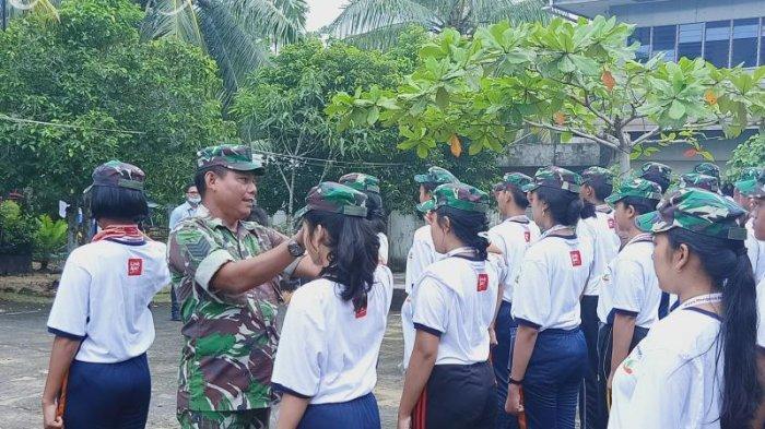 Siswa-siswi Bali Dapat Pelatihan Bela Negara Dari TNI Kodim 1201 Mempawah - pelatihan-bela-negara5.jpg
