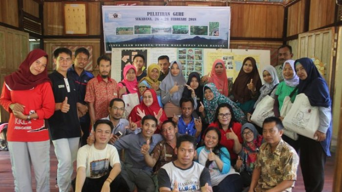 Yayasan Palung Ajak Pihak Sekolah Berwawasan Lingkungan