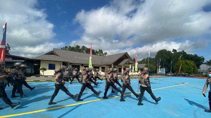 Polres Sekadau Latihan Dalmas untuk Peningkatan Kemampuan Personel