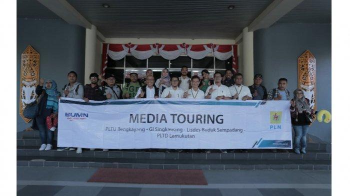 Media Touring PLN Ajak Jurnalis untuk Bersinergi