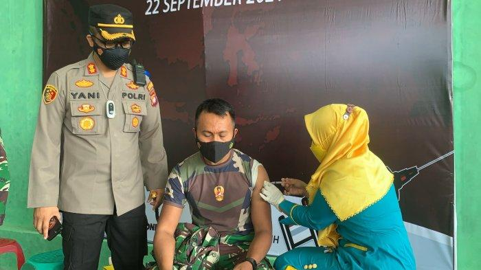 Polres Ketapang Kembali Gelar Vaksinasi Massal di Gedung Pelti Ketapang