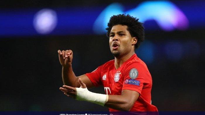 Serge Gnabry Top Skor Sementara Liga Champion Kalahkan Cristiano Ronaldo hingga Top Skor UCL 2018