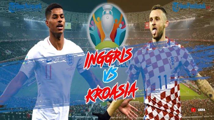 LIVE INGGRIS Vs KROASIA Streaming MolaTV & Update Skor Kroasia Vs Inggris Malam Ini Minggu 13 Juni