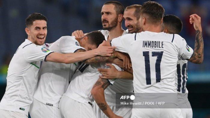Susunan Pemain Italia Kontra Swiss Euro 2021 Malam Ini Gli Azzuri Puncaki Grup A