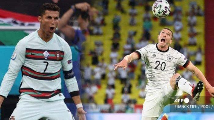 Hasil EURO 2021 Portugal vs Jerman Malam Ini Live RCTI - Mola TV Pertemuan Tim Besar di Grup Neraka