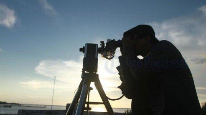 POSISI HILAL 11 Mei 2021, BMKG Keluarkan Data Hilal Awal Bulan Syawal pada 11-12 Mei 2021