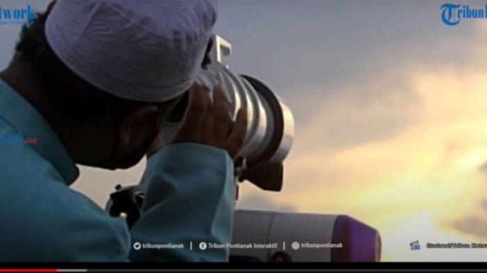 Hasil Isbat Idul Fitri 2021 ! Pantauan Hilal Hari Ini Nonton Siaran Langsung TVRI & Youtube Kemenag