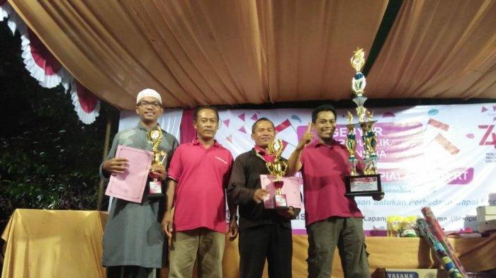 Gebyar HUT Republik Indonesia ke-74, RT 04 Raih Juara Umum
