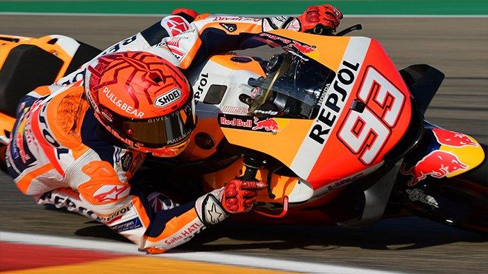 URUTAN Start Lengkap Starting Grid Pebalap MotoGP Aragon 2021 Minggu Besok, Awas Marquez Melesat