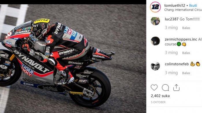 Sedang Berlangsung, LIVE STREAMING Moto2 Valencia 2019 - Thomas Luthi di Depan