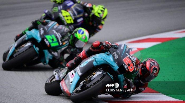 Hasil Kualifikasi MotoGP Aragon 2020 Tadi Malam: Quartararo Pole Position, A Marquez Start Posisi 11