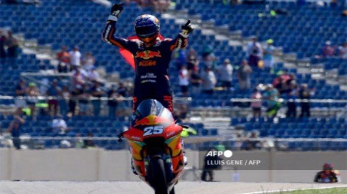 HASIL MotoGP Aragon 2021 Malam Ini Live Trans7, Raul Fenrnadez Juara Moto3