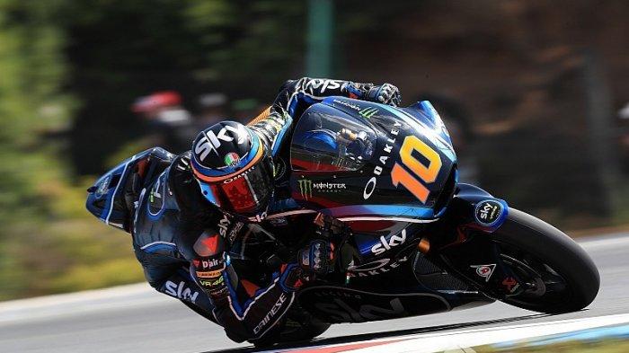 HASIL FP2 Moto2 Malam Ini Jumat 13 November 2020 - Adik Valentino Rossi Tercepat di GP Portugal 2020