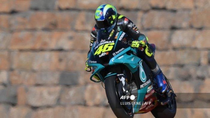 Jadwal Kualifikasi MotoGP Aragon 2021, Valentino Rossi Alami Peningkatan di Latihan Bebas
