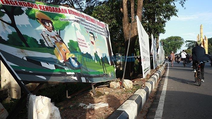FOTO: Pembangunan Trotoar Jalan Ahmad Yani Pontianak
