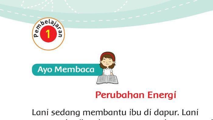 Kunci Jawaban Tema 6 Halaman 84 85 86 87 88 Kelas 3 Sd Materi Energi Dan Perubahannya Pembelajaran 4 Tribun Pontianak