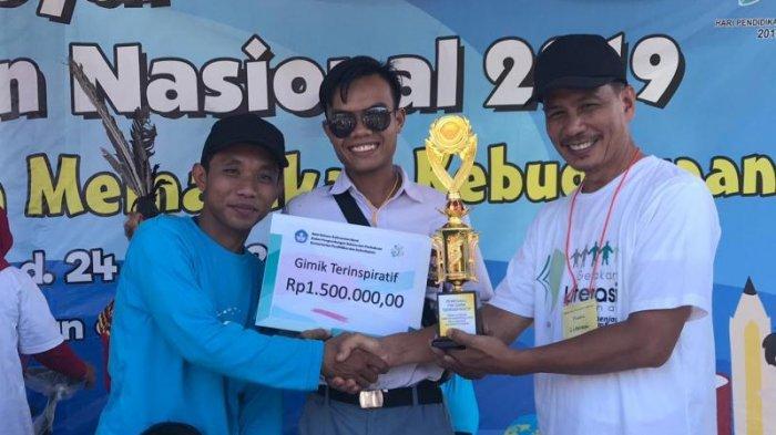 Gebyar Hardiknas 2019, UPT Kemendikbud Balai Bahasa Kalbar Gelar Pawai Literasi & Jalan Sehat - pemenang-gimik-terinspiratif-smk-koperasi-pontianak.jpg