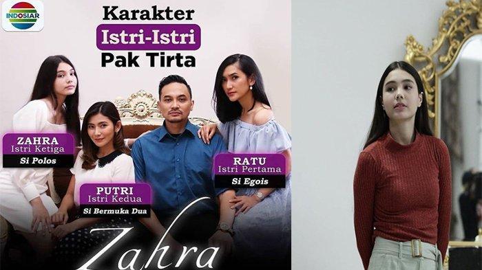 Cantik dan Totalitas, Berikut Profil Lea Ciarachel yang Memerankan Sosok Zahra di Sinetron Indosiar