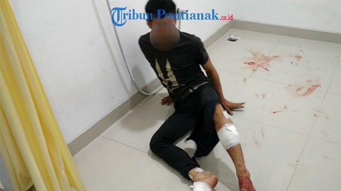 FOTO: DPO Pelaku Pemerasan Terpaksa Ditembak Unit Jatanras Sat Reskrim Polresta Pontianak - pemerasan-3.jpg