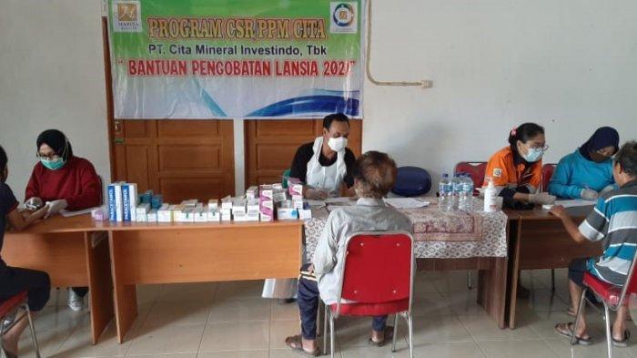 Peduli Kesehatan Lansia, CMI Gelar Pengecekan Kesehatan Gratis