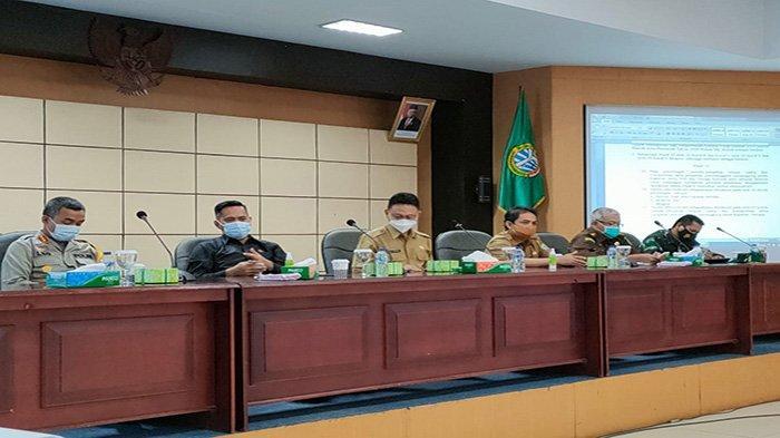 Pemkot Pontianak Bersama Tim Gabungan Serta Instansi Terkait Gelar Rapat Koordinasi Satgas Covid-19