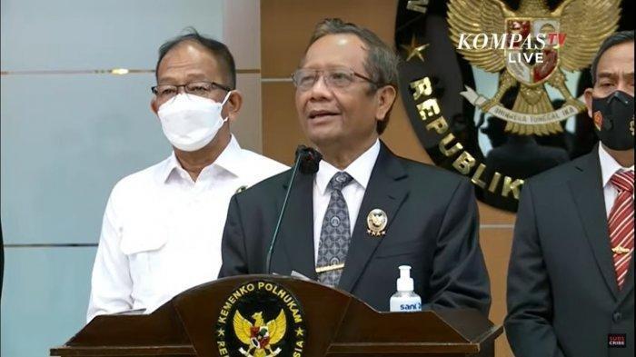 Pemerintah Nyatakan KKB Papua sebagai Terorisme, Mahfud MD: Lakukan Tindakan Tepat, Tegas & Terukur