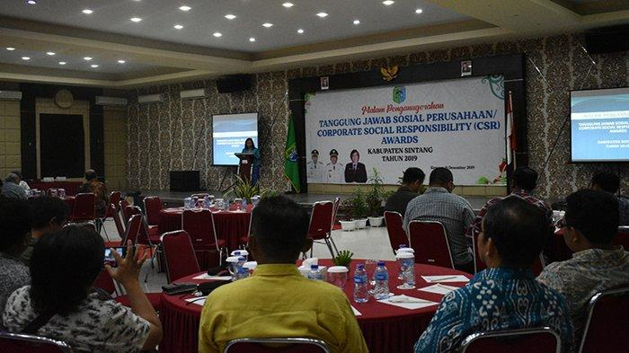 CSR Perusahaan di Kabupaten Sintang Sepanjang Tahun 2018 Capai Rp 6 Miliar