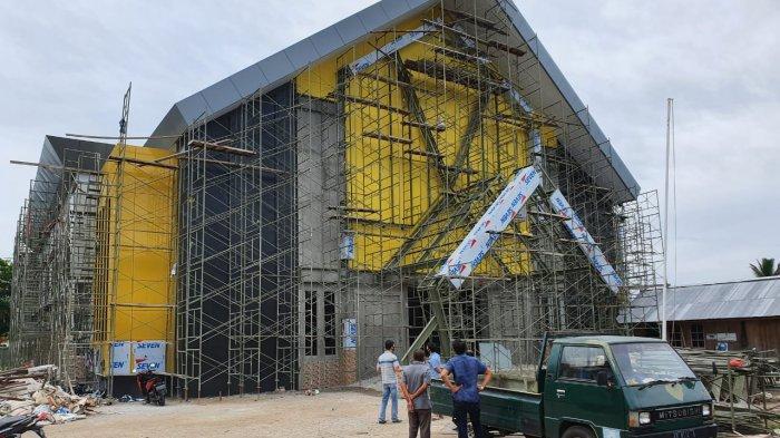 Proses Pembangunan Dua Gedung Utama UPB Pontianak Mencapai 80 Persen
