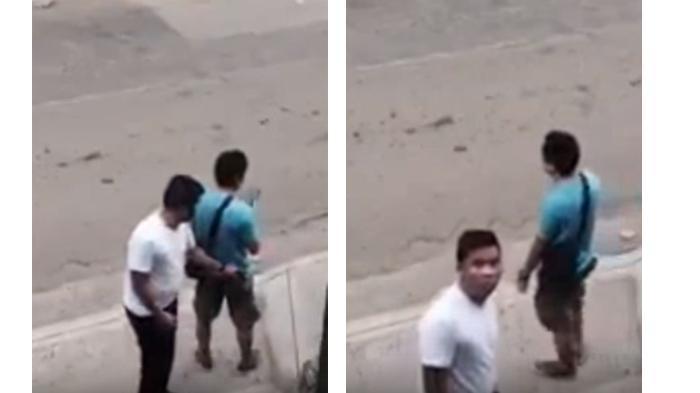 Lucu! Terekam CCTV saat Mencopet, Tonton Video Aksinya