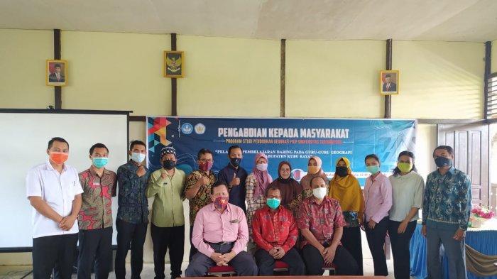 Dosen Prodi Pendidikan Geografi FKIP Untan Gelar Pelatihan Pembelajaran Daring Pada Guru