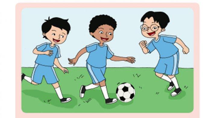 Penemuan Permainan Olahraga Sepak Bola.