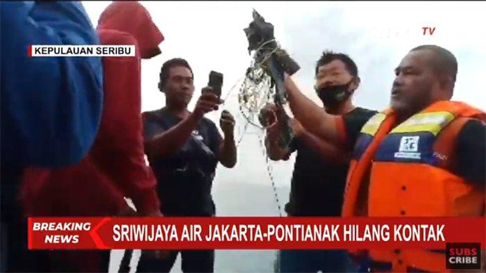 TERBARU Saksi Dengar Ledakan lalu Temukan Serpihan dan Avtur di Pulau Laki Kepulauan Seribu