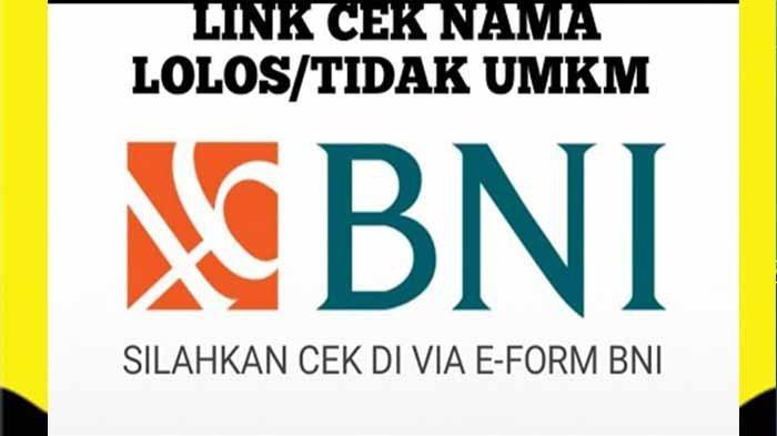 LINK UMKM PNM MEKAR BNI & Cek Pencairan BLT UMKM Mekar BNI Tahap 3 Kapan? Login banpresbpum.id