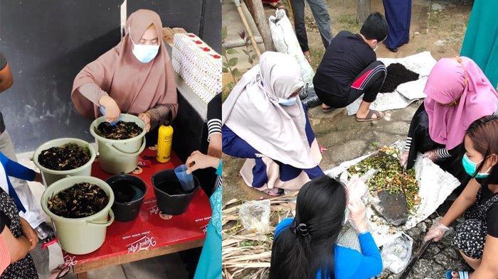 Mengolah Sampah Basah Rumah Tangga Menjadi Pupuk Organik