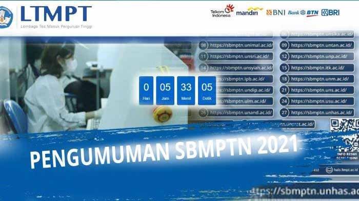 Detik-detik Pengumuman SBMPTN Hari Ini Jam 3 Sore dan Cara Lihat Pengumuman SBMPTN Jika Server Penuh
