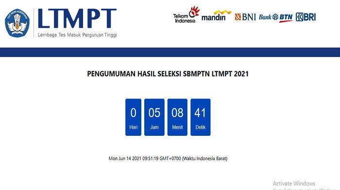 29 LINK Pengumuman SBMPTN 2021 Login Menggunakan Nomor Pendaftaran dan Tanggal Lahir Jam 3 Sore WIB