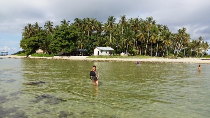 Pesona Pulau Sawi di Kendawangan Mampu Buat Takjub Pengunjung