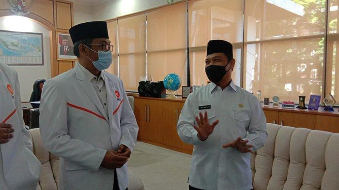 Pengurus DPW PKS Kalbar Bersilaturahmi ke Wagub Ria Norsan