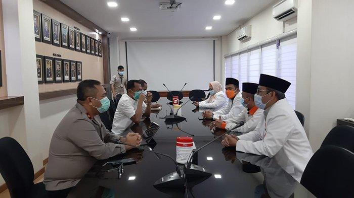 Berkunjung ke Polda Kalbar, Arif Joni Ungkap Komitmen PKS Bersinergi