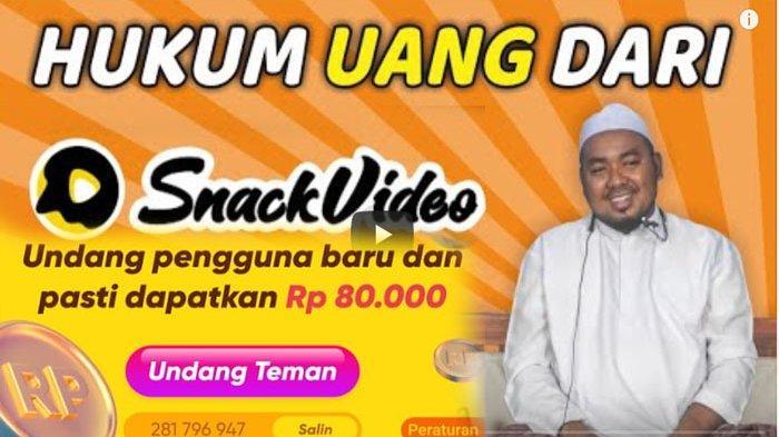 Hukum Snack Video Halal atau Haram ? Berikut Penjelasan Abuya Abd Lathif Adzim