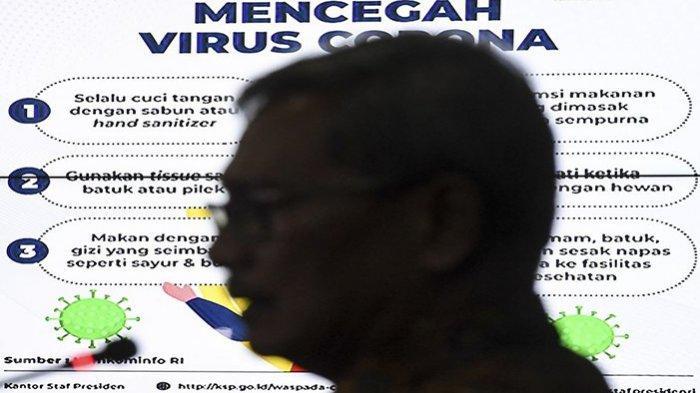 UPDATE Pasien Positif Virus Corona di Indonesia - Kasus 25 Meninggal Dunia, Pasien Covid-19 Sisa 26