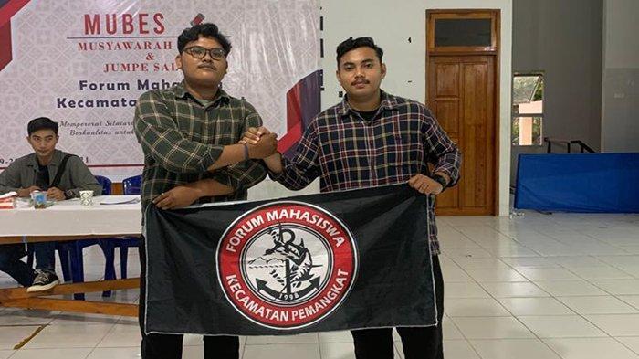 Roby Tariqin Terpilih Jadi Ketua Forum Mahasiswa Kecamatan Pemangkat