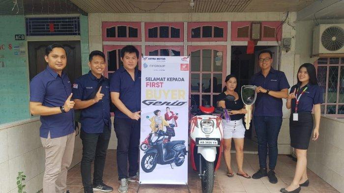 First Buyer Honda Genio 110 di Kalimantan Barat