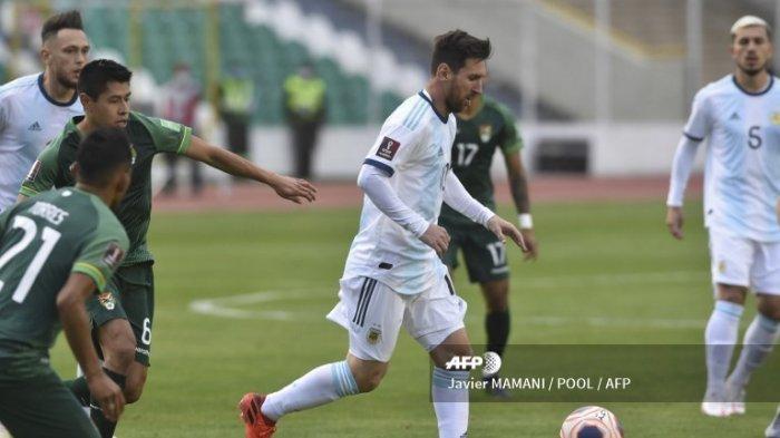Siaran Langsung Argentina vs Paraguay TVOnline Live MolaTV: Lionel Messi Dipastikan Masuk Line Up